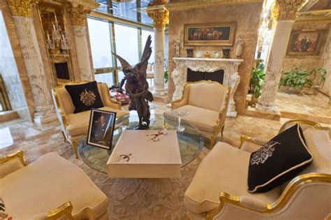 donald trump gold penthouse inside trump s opulent penthouse the express tribune
