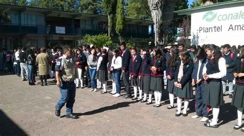 x video conalep de tlaxcala organiz 243 ayuntamiento de amaxac simulacro de sismo e