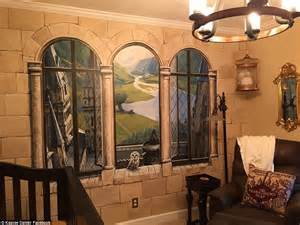 inspire room harry potter inspired nursery in illinois has a dumbledore portrait and view of hogwarts daily