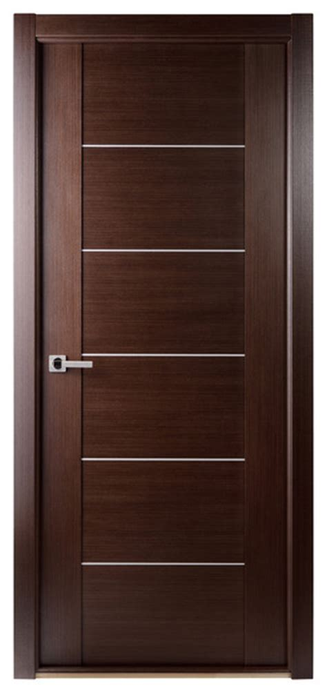 Maximum 201 Interior Door Wenge Contemporary Interior Interior Doors Nyc