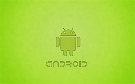 wallpaper android green green android design hd wallpaper 14984 wallpaper