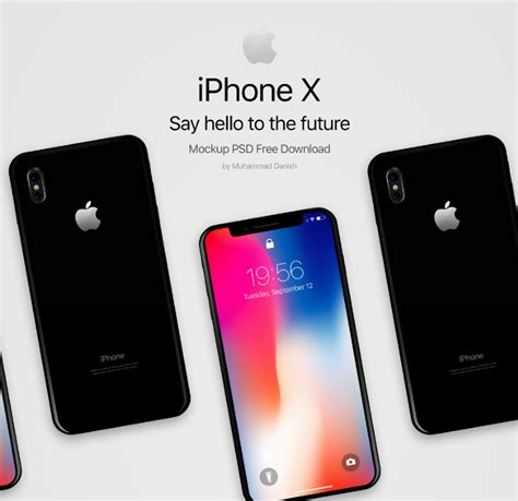 Iphone X Black Free Psd Mockup Engine Templates Iphone X Mockup Template