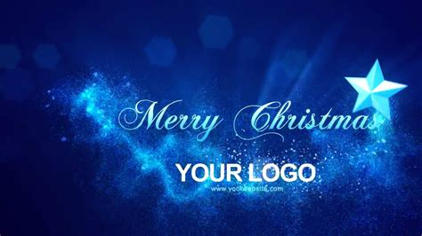 templates after effects gratis navidad merry christmas intro after effects templates youtube