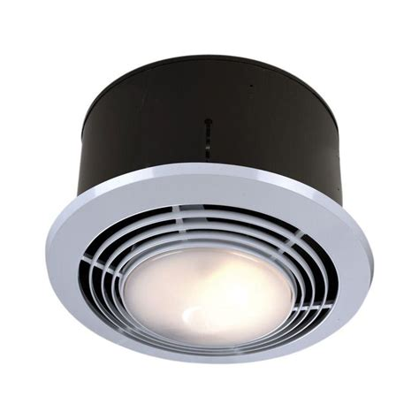 nutone bathroom exhaust fans with light and heater 70 cfm ceiling exhaust fan with light and heater
