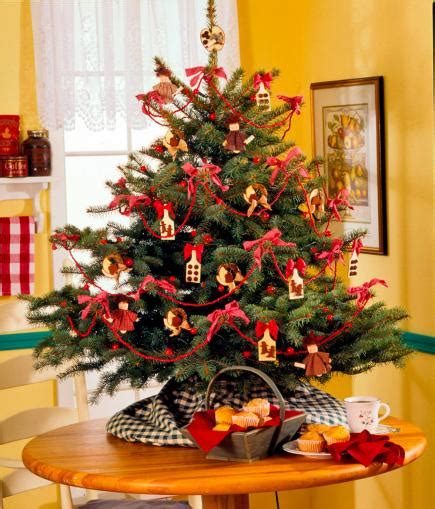 Table Top Decorated Trees by 12 Easy Tabletop Trees Midwest Living