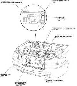 91 honda accord cooling fan wiring diagram accord