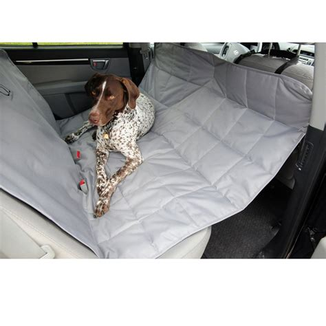 Petego Hammock petego hammock car seat pet protector gray