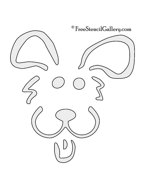 printable engraving templates dog face template printable www imgkid com the image