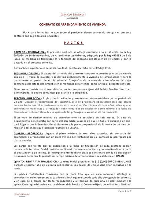 contrato alquiler vivienda 2015 word contrato alquiler vivienda 2015 word modelo contrato de