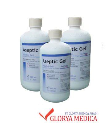 Harga Clear Gel harga aseptic gel onemed 500 ml murah glorya medica