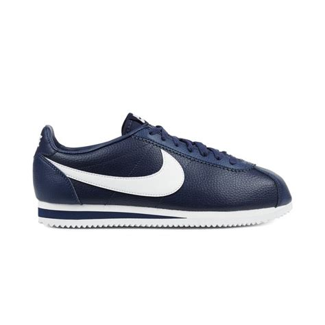 Nike Classic Cortez Leather White Navy Nike Classic Cortez Leather Midnight Navy White 59 50