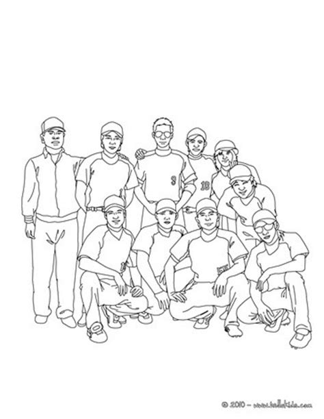 baseball team coloring pages hellokids com
