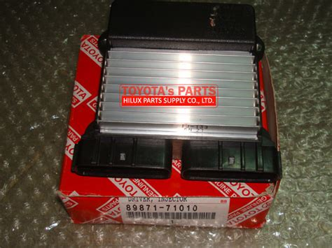 Injektor Toyota Innova Hilux Fortuner Diesel Variasi 89871 71010 genuine toyota injector driver 1kd 2kd 1ad 1vd