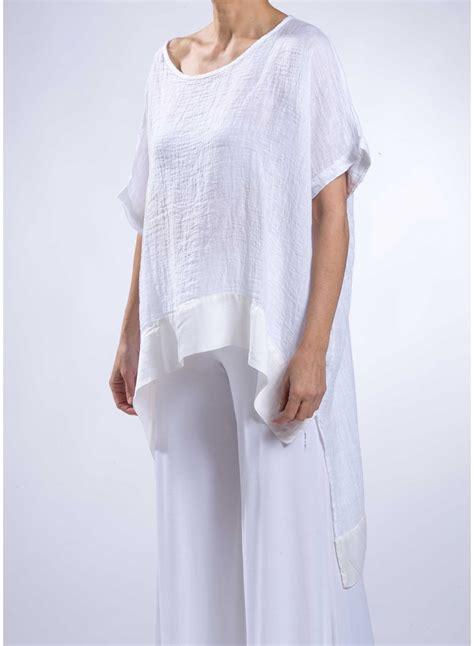 Linen Cotton Blouse blouse scale linen silk