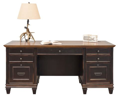 martin furniture hartford credenza brown