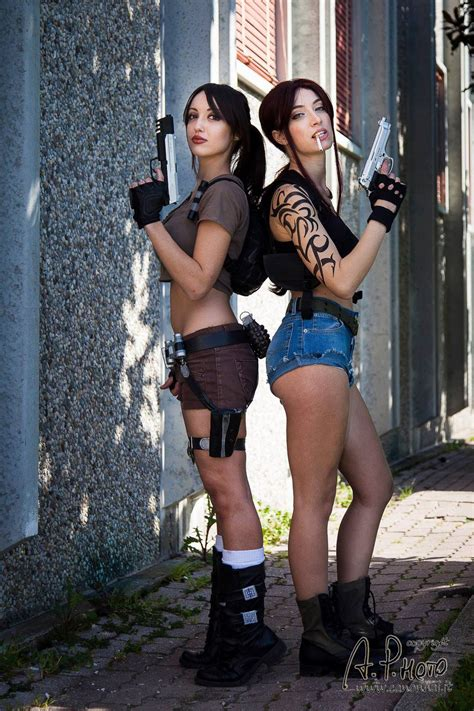 epic crossover lara x revy by tiddeindisguise on deviantart