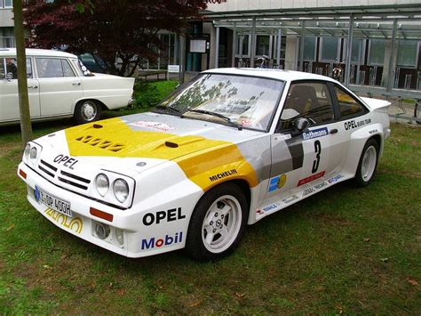 Opel Manta Rallye by Opel Manta B 400 Opel Manta Rally And Cars