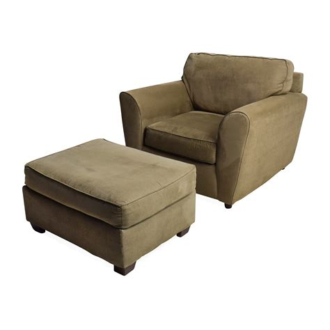 armchair with footstool 56 off bauhaus bauhaus armchair with ottoman chairs