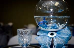 Quinceanera Centerpiece Rincon Real Hall Decorations Fishy Themed Quinceanera Houston Tx