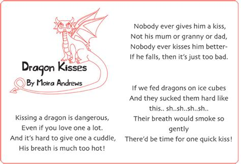new year poems about dragons illustrated kisses poem st david s day