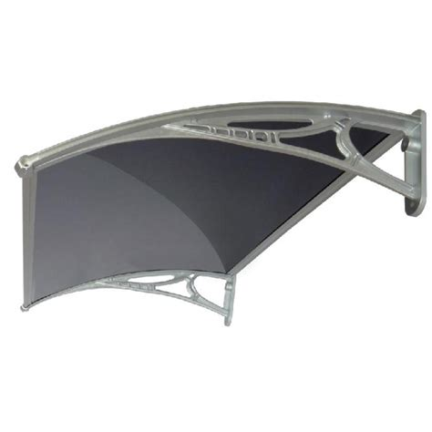bunnings awning altamonte 1200 x 700mm havana aluminium canopy with