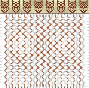 создание схема для плетения фенечки