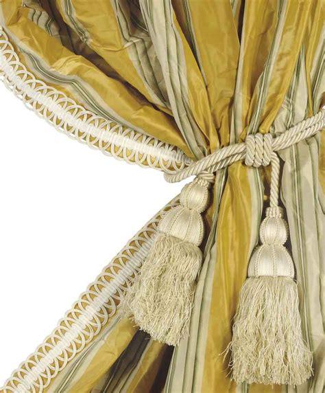 yellow silk drapes two pairs of striped yellow silk damask curtain panels