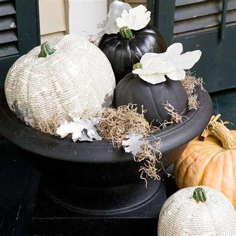 pumpkin home decor 26 awesome faux pumpkin ideas for fall home d 233 cor digsdigs