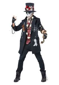 Scary Halloween Costumes For Men Voodoo Dude Costume