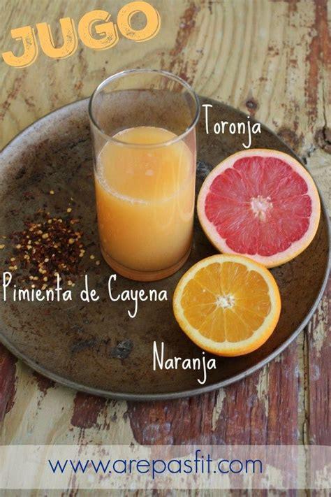 que es pimienta de cayena jugo de toronja naranja y pimienta de cayena recipe