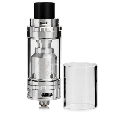 Gemini Rta Rebuildable Tank Atomizer Black Authentic Vaporesso authentic vaporesso gemini rta silver 3 5ml rebuildable tank atomizer