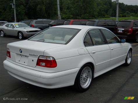 2001 bmw 525i alpine white 2001 bmw 5 series 525i sedan exterior photo