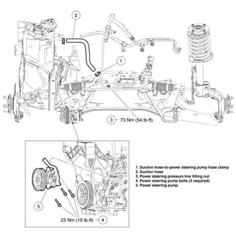 Daihatsu Taruna 2002 Power Steering Kit Up Seal Power Stir repair guides power steering removal installation autozone