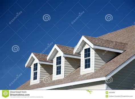 houses with dormer windows dormer windows royalty free stock photos image 4583688