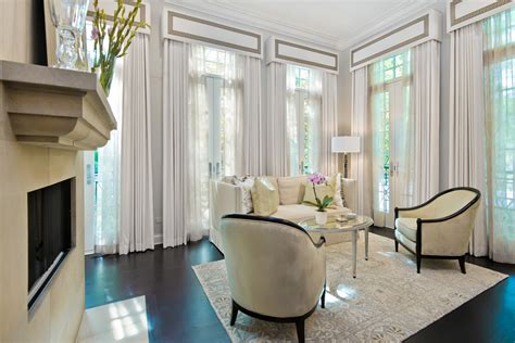 the bedroom window cast family room window treatments living room traditional with crown molding curtains