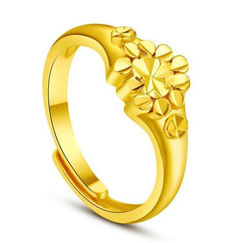 New Arrivals Ladies Ring 24k Gold Plated Plated Expensive