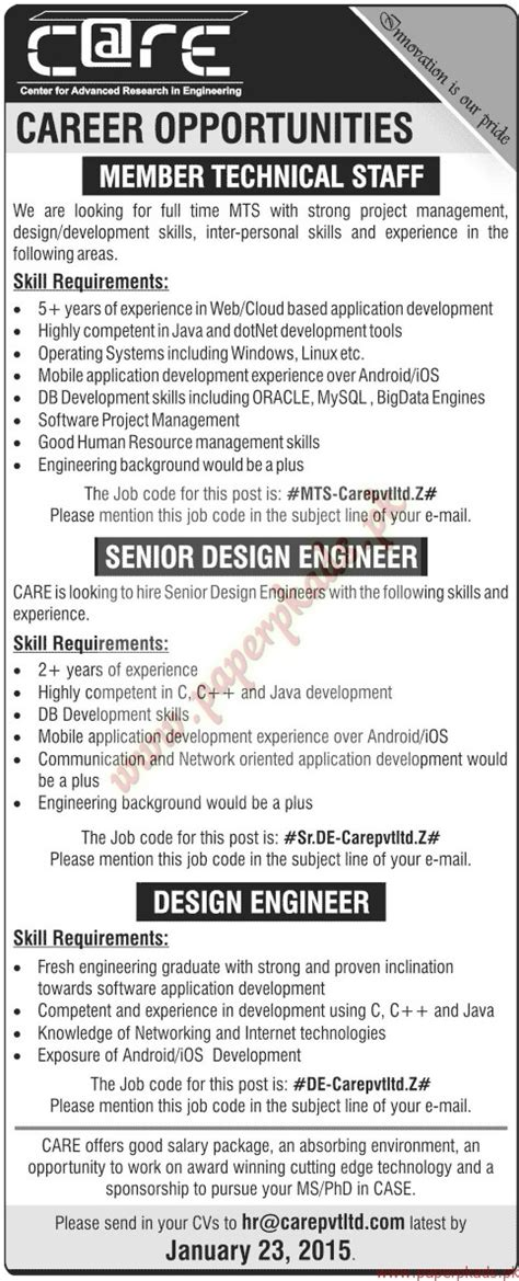 design engineer recruitment agency technical staff senior design engineer design engineer