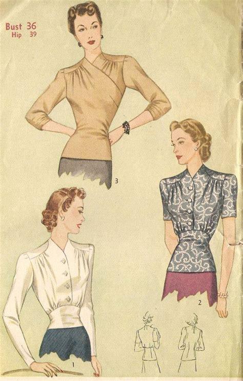 vintage pattern blouse vintage blouse patterns lace henley blouse