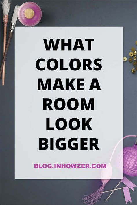 find out the best paint colors for small rooms to make them look bigger also discover where to
