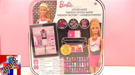 barbie fashion design maker youtube barbie fashion design maker atelier de mode fashionistas