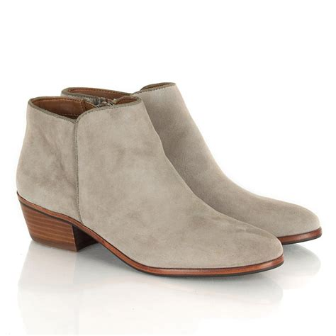 ankle boots sam edelman taupe petty women s ankle boot