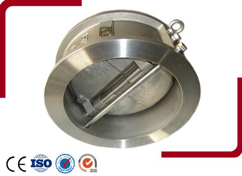 swing wafer check valve check valve dual plate check valve product zhejiang