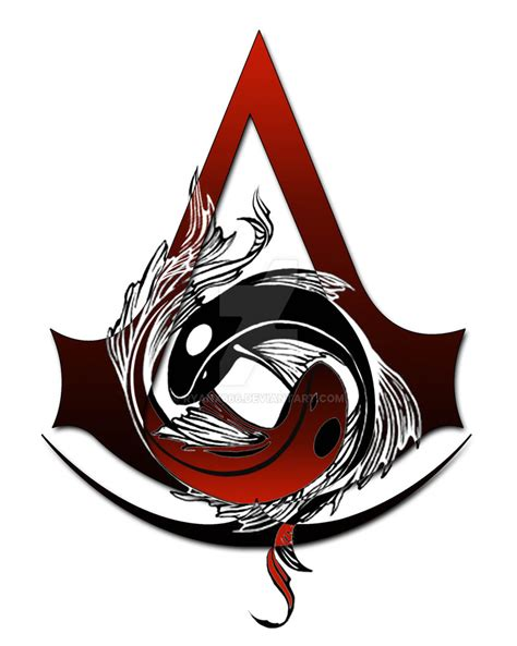 assassins creed tattoo designs balance of by ryanx666 on deviantart