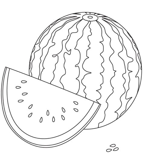 fruit coloring pages watermelon watermelon coloring page coloring book