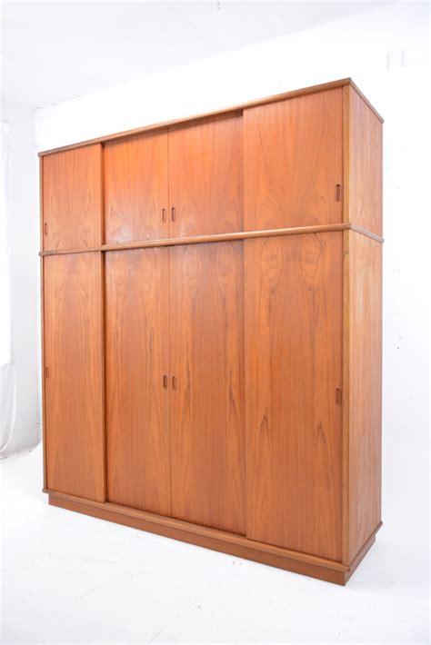 sliding door wardrobe  teak danish homestore
