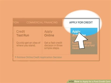 ways  apply   ford credit card wikihow