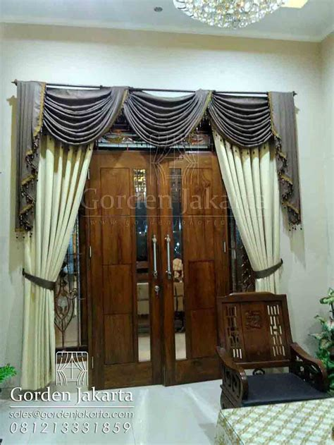 model gorden poni mempercantik jendela blinds indonesia