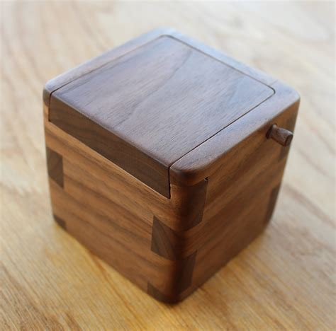 Handmade Engagement Ring Box - bespoke handmade wedding gifts and other presents hugh