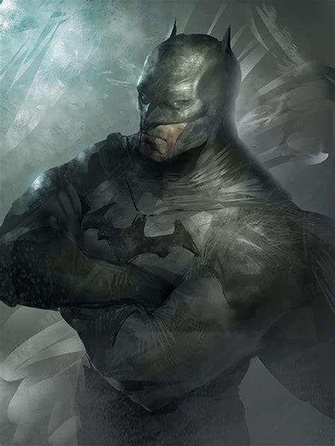 painting batman batman concept my heroes
