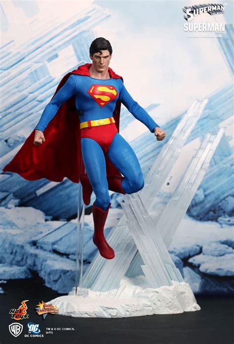 Toys Superman Christopher Reeve Ht toys 1 6 dc superman mms152 limited clark kent green kryptonite figure ebay